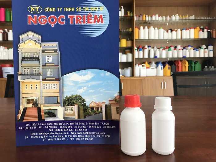 Chai Nhựa 50ml (C-013)/ 100ml (C-014) - Bao Bì Ngọc Triêm2