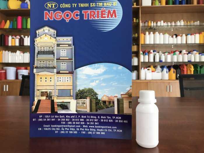 Chai Nhựa 50ml (C-013)/ 100ml (C-014) - Bao Bì Ngọc Triêm1