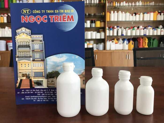 Chai Nhựa 50ml / 100ml / 200ml / 250ml BKA- Bao Bì Nọc Triêm0