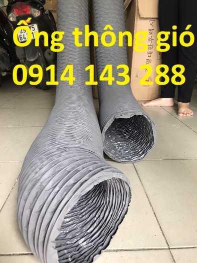 Ống gió mềm vải Tarpaulin D300*1P chất lượng cao giá rẻ1