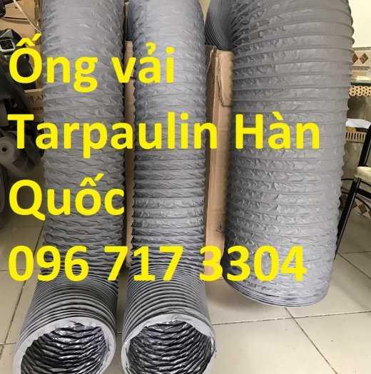 Ống gió mềm vải Tarpaulin D300*1P chất lượng cao giá rẻ2