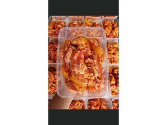 Thịt Heo Rừng Ướp sẵn 500gr0