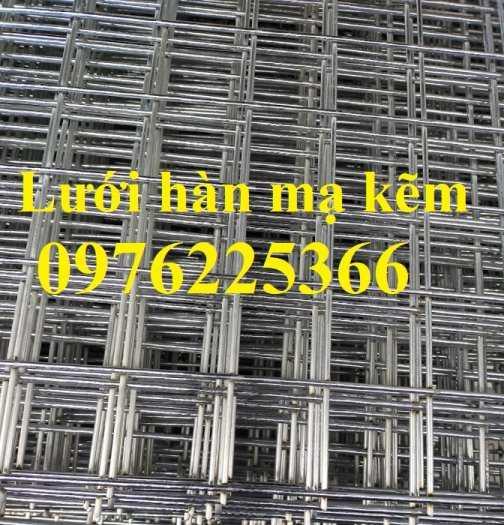 Lưới hàn ô vuông mạ kẽm, lưới kẽm hàn ô vuông, lưới thép hàn ô vuông7