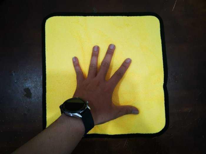 [BanSi] Khăn Lau Đa Năng Microfiber 2 Lớp Chuyên Dụng Vải Bông Mềm, Siêu Thấm Hút 30x30cm