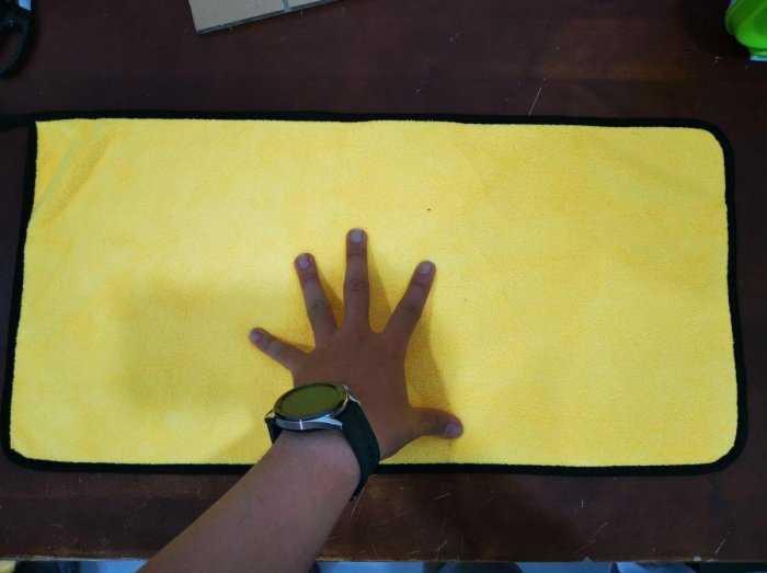 [BanSi] Khăn Lau Đa Năng Microfiber 2 Lớp Chuyên Dụng Vải Bông Mềm, Siêu Thấm Hút 30x60cm1