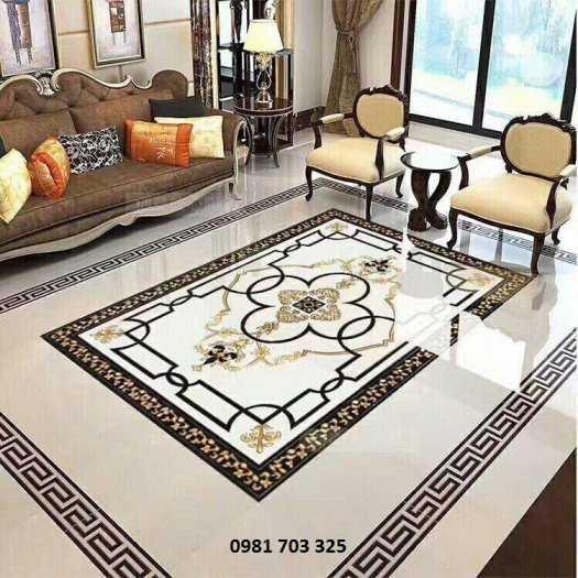 Thảm gạch lát sàn phòng khách6