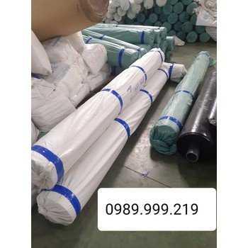 Bạt nhựa chống thấm hdpe 0.3,0.5mm khổ 4x50,5x60m lót ao tôm,cá,bãi rác1