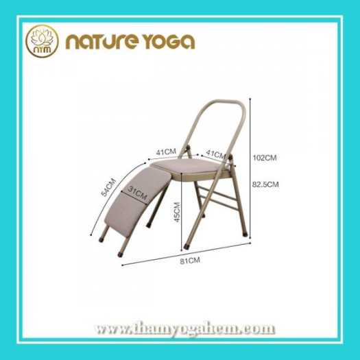 Ghế Tập Yoga Đa Năng Hỗ Trợ Tại Nhà Có Cầu Đỡ Đầu9