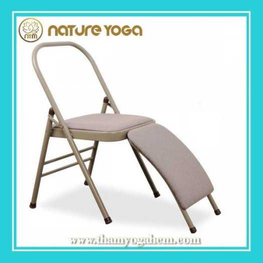 Ghế Tập Yoga Đa Năng Hỗ Trợ Tại Nhà Có Cầu Đỡ Đầu7