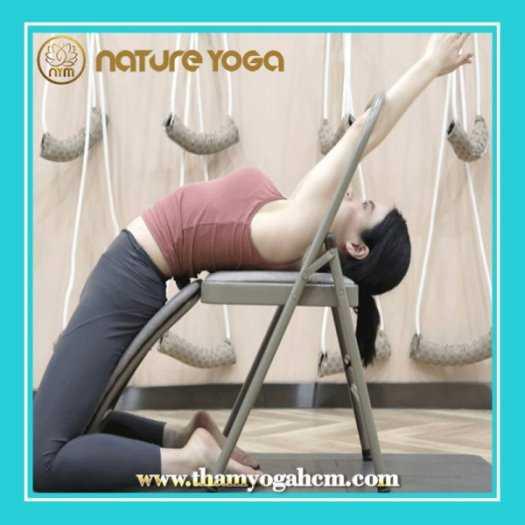 Ghế Tập Yoga Đa Năng Hỗ Trợ Tại Nhà Có Cầu Đỡ Đầu6