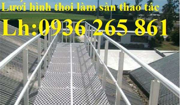 Lưới thép dập giãn làm cầu thang, lan can, hành lang, sàn thao tác giá rẻ1