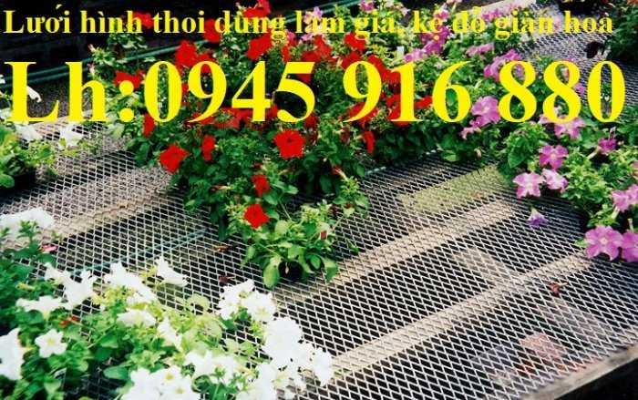Lưới thép dập giãn làm cầu thang, lan can, hành lang, sàn thao tác giá rẻ11