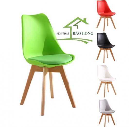 Ghế nhựa Eames nệm giá rẻ3