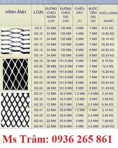 Lưới dập giãn XG dùng trong xây dựng, trang trí nội thất, làm hành lang, hàng rào giá rẻ10
