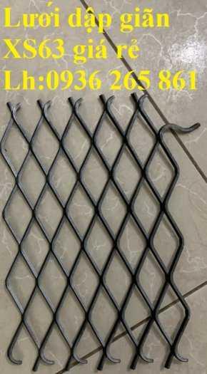 Lưới dập giãn XG dùng trong xây dựng, trang trí nội thất, làm hành lang, hàng rào giá rẻ1