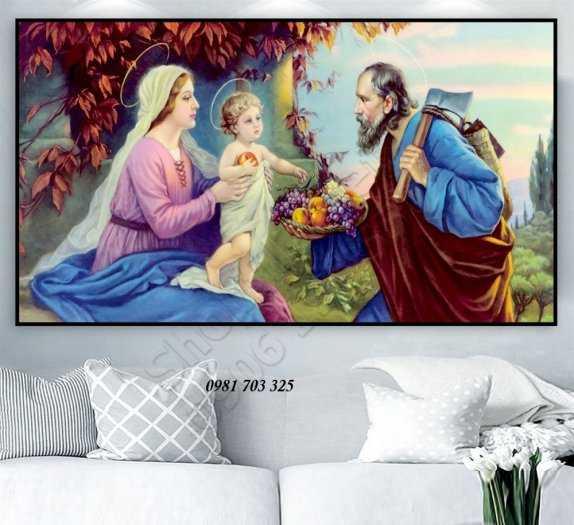 Tranh gach 3D công giáo6