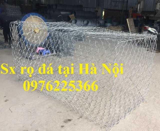 Rọ đá mạ kẽm 2x1x0,5m, 2x1x1m có sẵn hàng tại Hà Nội8