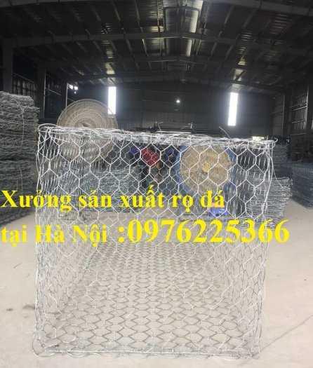 Rọ đá mạ kẽm 2x1x0,5m, 2x1x1m có sẵn hàng tại Hà Nội7