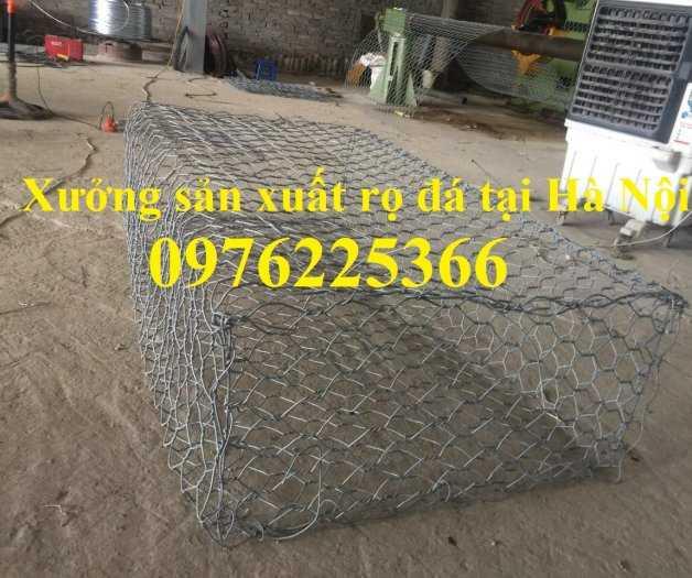 Rọ đá mạ kẽm 2x1x0,5m, 2x1x1m có sẵn hàng tại Hà Nội6