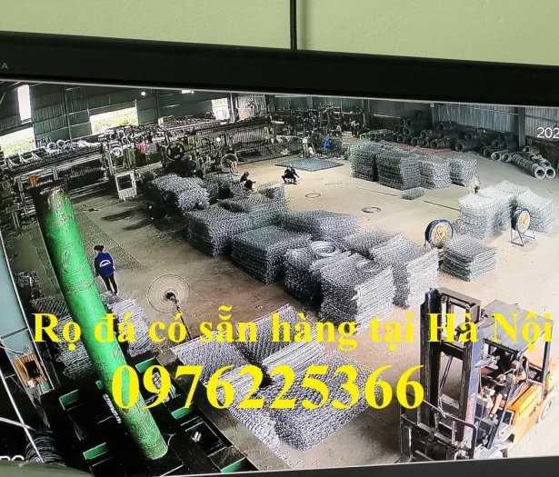 Rọ đá mạ kẽm 2x1x0,5m, 2x1x1m có sẵn hàng tại Hà Nội3