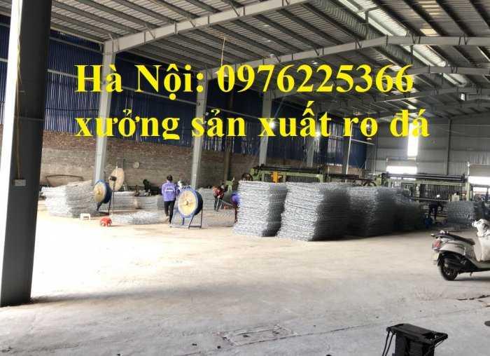 Rọ đá mạ kẽm 2x1x0,5m, 2x1x1m có sẵn hàng tại Hà Nội2