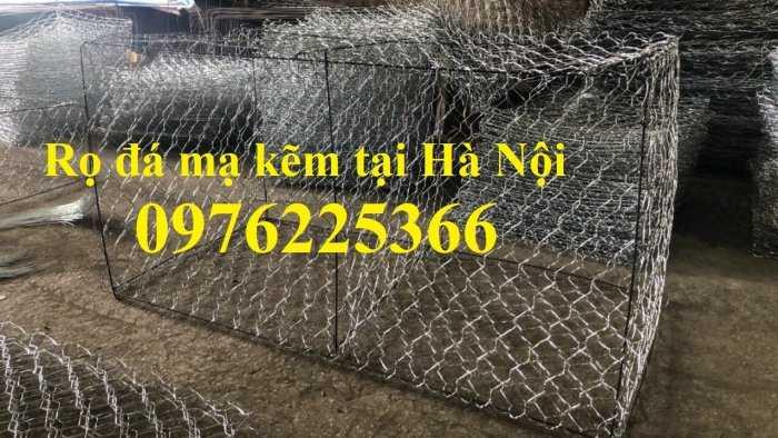 Rọ đá mạ kẽm 2x1x0,5m, 2x1x1m có sẵn hàng tại Hà Nội1