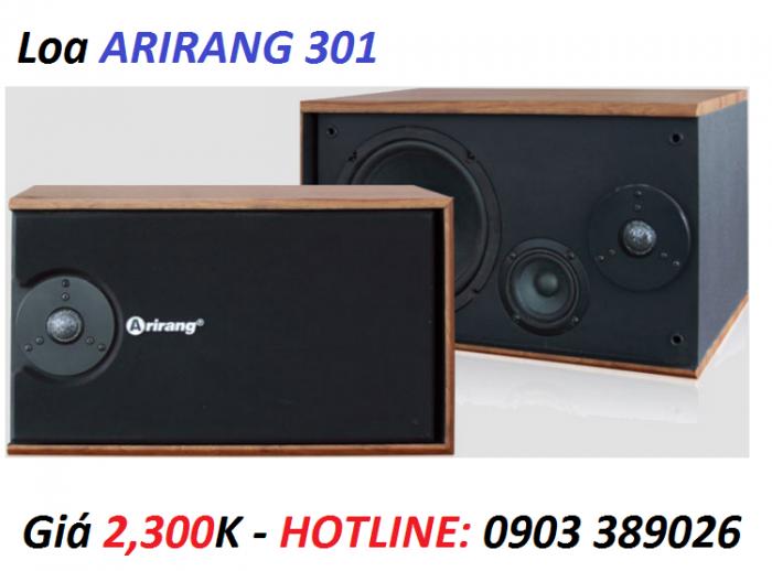 Loa Arirang 301 chính hãng Maseco Arirang Việt Nam