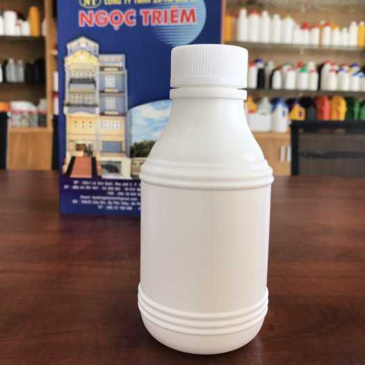 Bình Nhựa 0.5 Lít 3 Sọc (B-014) - Bao Bì Ngọc Triêm0