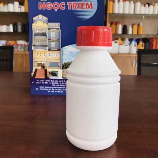 Bình Nhựa 0.5 Lít/ 1 Lít 2 Ngấn - Bao Bì Ngọc Triêm1