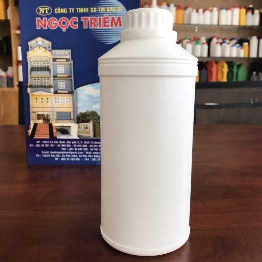 Bình Nhựa 1 Lít (B-020) - Bao Bì Ngọc Triêm0