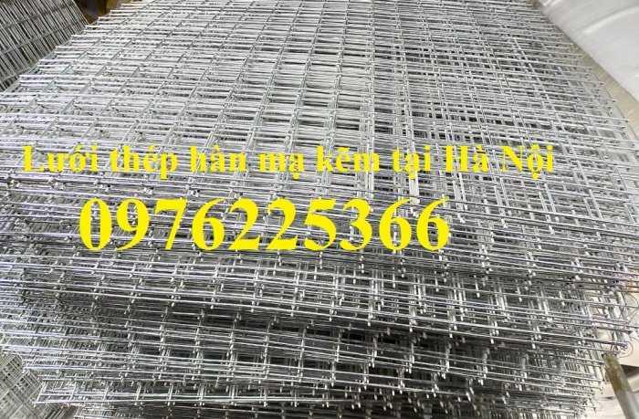 Lưới kẽm, lưới hàn mạ kẽm, lưới hàn ô vuông mạ kẽm, lưới thép ô vuônng10