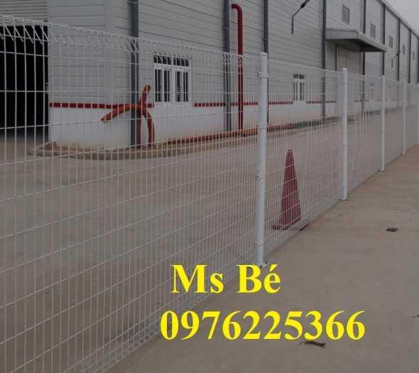 Hàng rào mạ kẽm, hàng rào gập đầu7