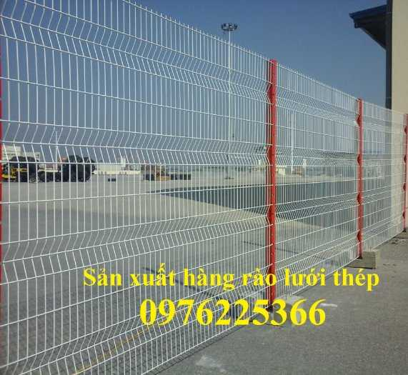 Hàng rào mạ kẽm, hàng rào gập đầu5