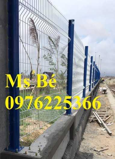 Hàng rào mạ kẽm, hàng rào gập đầu4