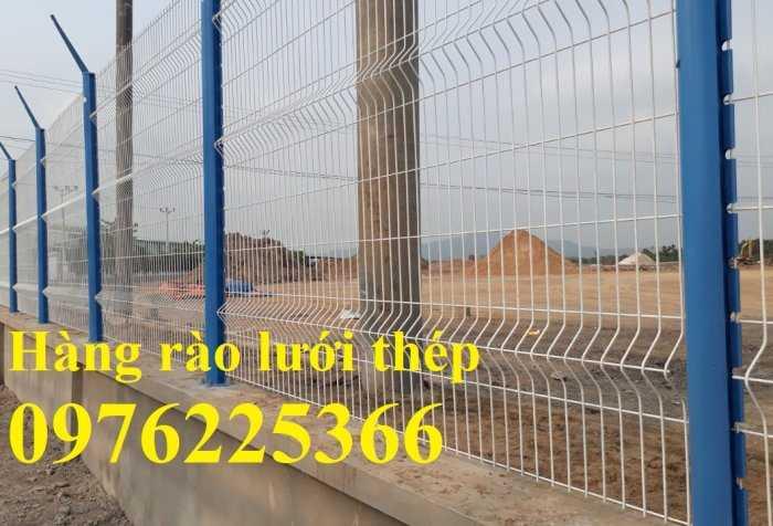 Hàng rào mạ kẽm, hàng rào gập đầu0