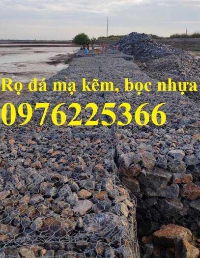 Rọ đá mạ kẽm 2x1x0,5m, 2x1x1m4