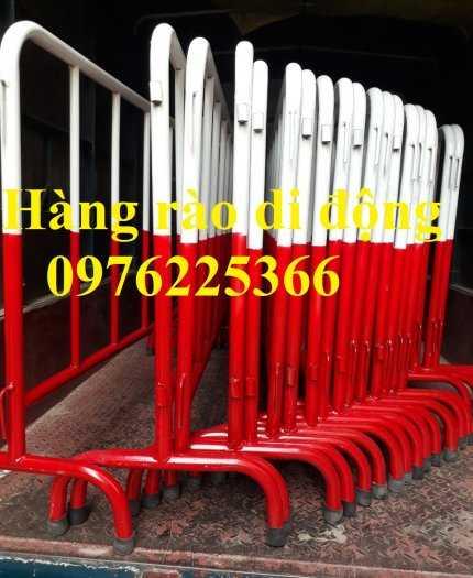 Sản xuất hàng rào ngăn cách ,hàng rào di động, rào chắn di động8