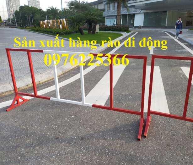 Sản xuất hàng rào ngăn cách ,hàng rào di động, rào chắn di động0