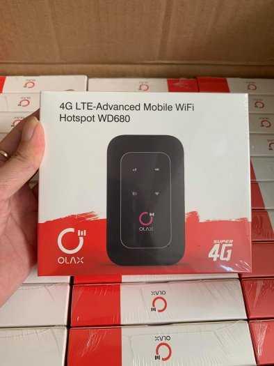 Bộ Phát wifi 4G ZTE WD680 OLAX Chính hãng tốc độ cao8
