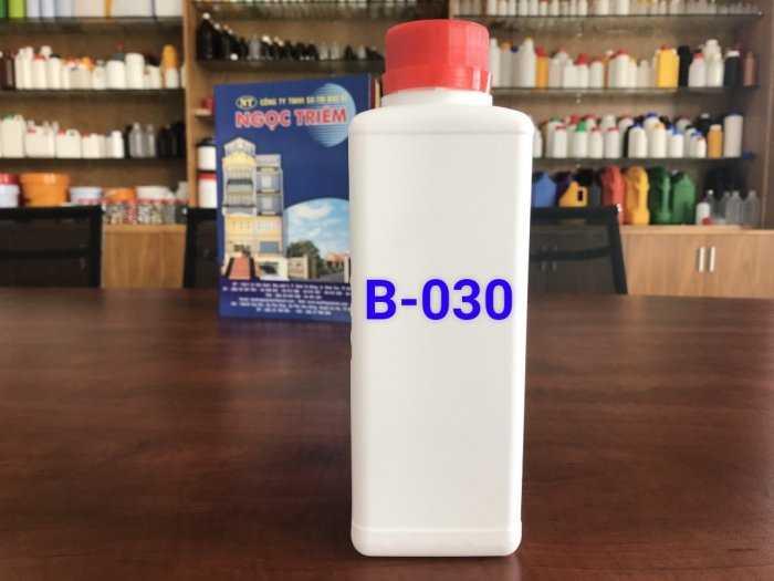 Bình Nhựa 0.5 Lít vuông/ 650ML/ 1 Lít Vuông HDPE - Bao Bì Ngọc Triêm2