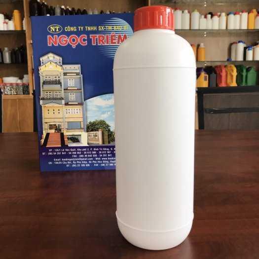 Bình nhựa 250ml/ 0.5 Lít (B-GL2)/ 1 Lít (B-GL3) - Bao Bì Ngọc Triêm0