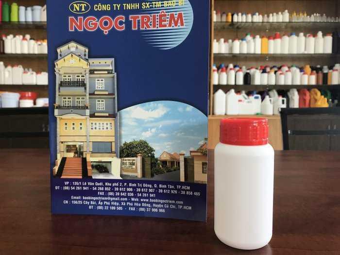 Bình Nhựa 250ml (B-LS) - Bao Bì Ngọc Triêm0