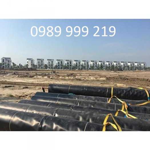 Bạt nhựa HDPE 0.5mm-k6-50m-150kg lót bể nước-cty suncogroup việt nam