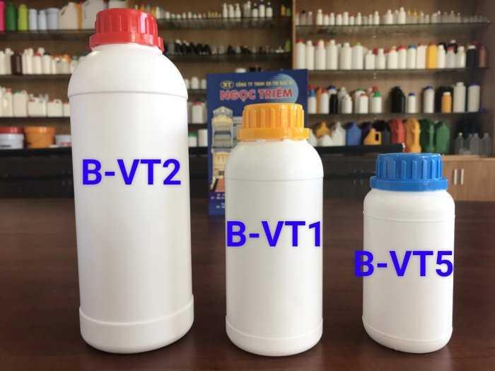 Bình Nhựa 250Ml/ 0.5 Lít/ 1 Lít - Bao Bì Ngọc Triêm2