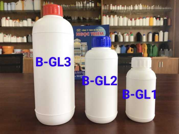 Bình Nhựa 250Ml/ 0.5 Lít/ 1 Lít - Bao Bì Ngọc Triêm1