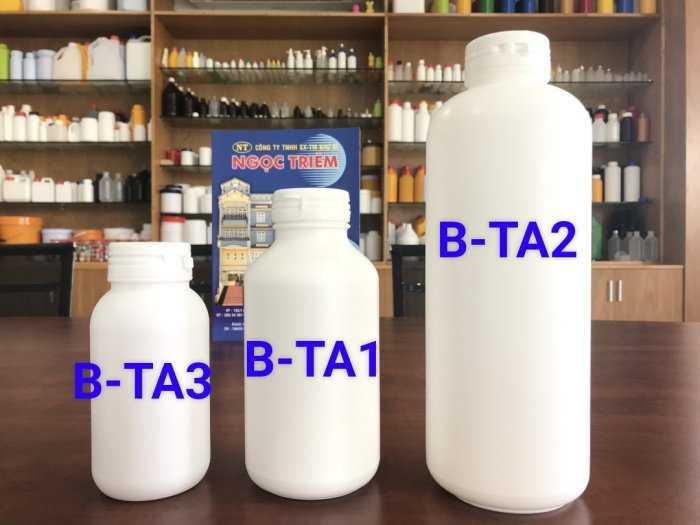 Bình Nhựa 250Ml/ 0.5 Lít/ 1 Lít - Bao Bì Ngọc Triêm0