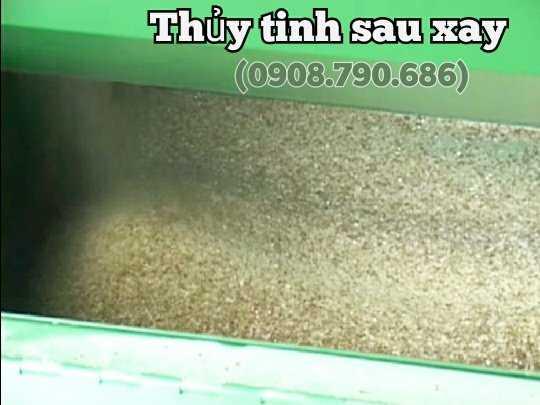 Máy Xay Nghiền Thủy Tinh Kính Chai Lọ 15kw2