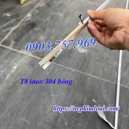 Nẹp T Inox 304, Nẹp Inox 304, Nẹp T Inox, Nẹp Inox Chữ T5