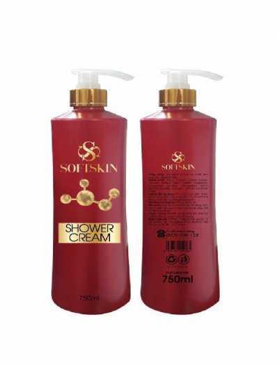Sữa tắm vitamin softskin - Gỉai pháp cho làn da sạch mụn thơm tho suốt cả ngày1