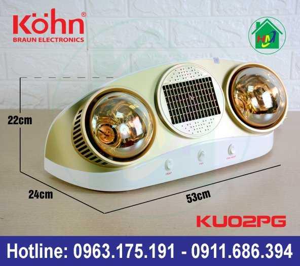 Sưởi Nhà Tắm Kohn Ku02pg7